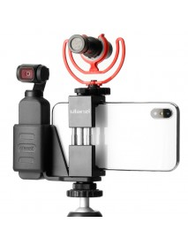 Ulanzi OP-1 Holder ST-02 Phone Clip Clamp MT-03 Tripod with 360 Degree Rotation Ballhead