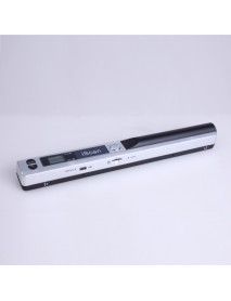 Handheld Document Scanner 900 DPI LCD Display Support JPG/PDF Format Selection Offline Scanning