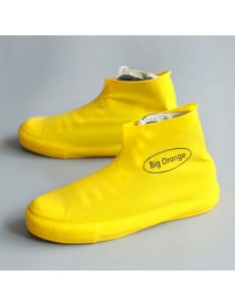 Disposable Silica Gel Rain Shoe Cover Rain Boots Waterproof Overshoes Durable Dustproof Shoes Storage Case