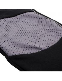 Men Running Sweatpants Color Block Zipper Pocket Outdoor Training Sport Pants