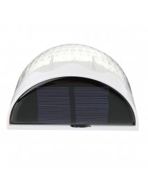 6 LED Solar Power Light Waterproof Warm Light Auto Light Control Outdoor Yard Garden Lawn Wall Lamp