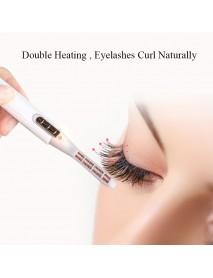 Electric Heated Eyelash Curler Extension Long Lasting Eye Lash Curling Tools Eyes Beauty Makeup Eyelash Curler Pen Cosmetic