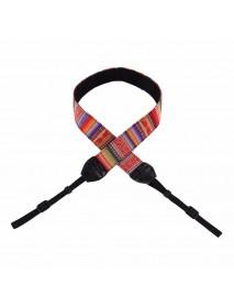 PULUZ PU6004 Retro Ethnic Style Multi-color Shoulder Neck Strap Camera Strap Camera Bag Wristband