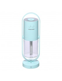 Anion Humidifier USB Car Desk Purification Household Air Small Mini Humidifier 360  Rotating Silent Humidification Romantic Colorful Projection
