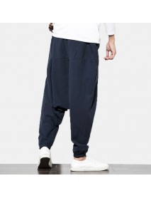 Casual Harem Pants Nepalese Loose Hanging Pants