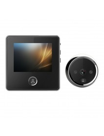 3 inch LCD 1MP 720P Peephole IR Camera 180 Days Standby Time Video Doorbell with Internal Memory