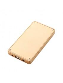 4000mAh Slim Wood Portable Power Bank Backup Battery for Samsung Xiaomi iPhone