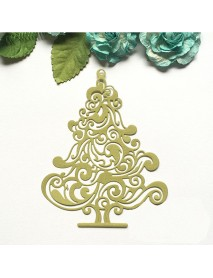 Christmas Tree Metal DIY Cutting Dies Stencil Scrapbook Album Craft Gift