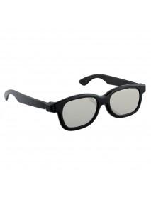 3pcs Black Round Polarized 3D Glasses for DVD LCD Video Game Theatre TV Theatre Movie