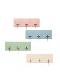 1Pc Strong Sticky Hooks No Trace Kitchen Bathroom Wall Hanging Hook