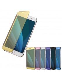 Plating Acrylic Mirror Smart Sleep Case For Samsung Galaxy J3/J5/J7 EU Version 2017