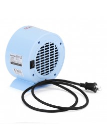 220V 500W Rainbow Horse Mini Handy Electric Air Space Heater Office Home Warmer