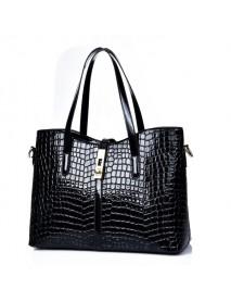 3 Pcs Women Stone Pattern Handbags Elgant Shoulder Bags Cluthes Bags Crossbody Bags