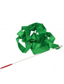 4M Gymnastic Art Streamer Ballet Dance Ribbon with Twirling Rod