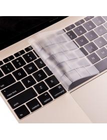 Rock 0.13mm Ultra Thin Transparent Waterproof Dustproof Keyboard Cover For Apple Macbook 12