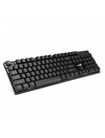 104 Key Full-sized USB Wired Backlit Gaming Keyboard for Desktop PC Computer Laptops