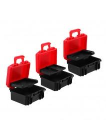 LENSGO D800 SD Dustproof XQD CF Card Case Anti-pressure Battery Box for DSLR Camera