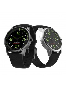 S-69 Smart Quartz Watch TPE Strap Intelligent Information Remind Luminous Sport Smart Watch