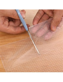 4Pcs/pack Transparent Silicone Cling Seal Film Multifunctional Food Fresh Keeping Saran Wrap