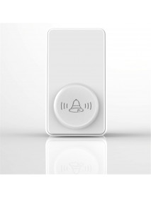 Bakeey One To One Wireless Self-Generating Long Distance No Battery EU Plug Doorbell Pager For Smart Home