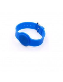 125Khz T5577 Writable Silica Gel Wristband RFID Tag Bracelet Adjustable Length Access Control