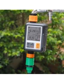 Digital Programmable Water Timer Automatic Watering Device 3 Large Screen IP65 Waterproof Rain Delay for Outdoor Garden Lawn Growing Plants Flowers