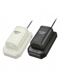 4800mAh Rechargeable Battery Pack Charging Kit For Xbox 360 Battery Wireless Controller