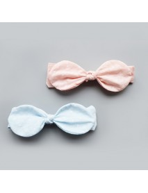 Baby Girls Headband Pink Bowknot Child Rabbit Ears Bow Hair Band Accessories