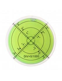 60mm Large Spirit Bubble Level Degree Mark Surface Circular Measuring Bulls Eyes