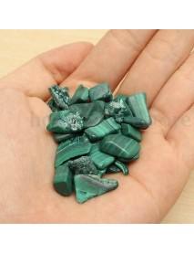 100g Natural Tumbled Malachite Stones Gemstones Reiki Polished Healing Decorations