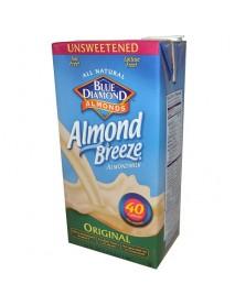 Blue Diamond Original Almond Breeze Unsweetened (12x32 Oz)