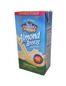 Blue Diamond Vanilla Almond Breeze Unsweetened (12x32 Oz)