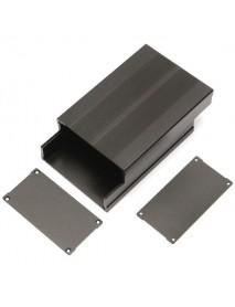 150*105*55mm Aluminum Instrument Box PCB Enclosure DIY Electronic Case
