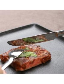 HUOHOU Stainless Steel Dinnerware Set  Fork Cutter Soup Spoon 3PCS/Set Kitchen Dinnerware From Xiaomi Youpin