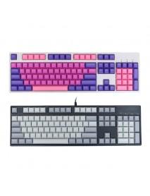 104 Key DSA Profile PBT Blank Keycaps Key Caps Set for Mechanical Keyboard