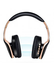 Bakeey SN-P18 Wireless bluetooth Headphone Foldable Stereo Handsfree 3.5mm Audio TF Card Headset with Mic