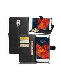 Litchi Flip Wallet Card Slots Bracket PU Leather Phone Case For Meizu Pro 6 Plus Global Version