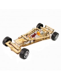 DIY Educational Electric Remote Control Damping Differential Car Scientific Invention Toys