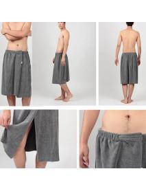 Honana BX-R358 Bathroom Summer Soft Mens Bath Wrap Towels Shower Spa Bath Towel Wrap