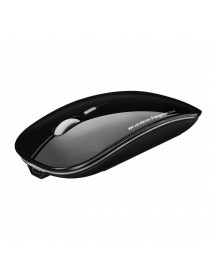 2400DPI Rechargeable 2.4GHz Wireless Mouse Ultra-thin Optical Mouse for Laptops Computers