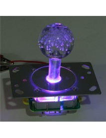 Arcade LED Illuminated Joystick Colorful Switchable from 4 to 8 Way Operation