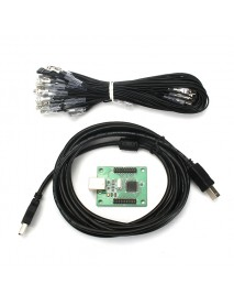 2 Player USB To Jamma Arcade Controller Arcade Parts Game Machine Accessories for Two People Play