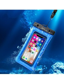 Baseus IPX8 Waterproof Airbag Floating Screen Touch Phone Bag for iPhone Xiaomi Huawei