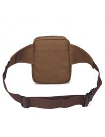 Canvas Outdoor Sports Fanny Pack Crossbody Bag Multifunctional Kettle Tactical Bag Waist Bag for Men