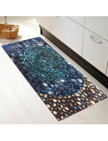 40 x 120cm Fashion 3D Cobblestone Non-slip Absorent Water Floor Mats Carpet Pad