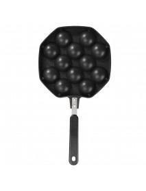 Takoyaki Pan 12 Cavities Takoyaki Maker Octopus Small Balls Baking Pan Frying Pan