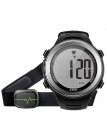 EZON T007 Men Watch Heart Rate Monitor 50M Waterproof Gym Hiking Outdoor Digital Watch