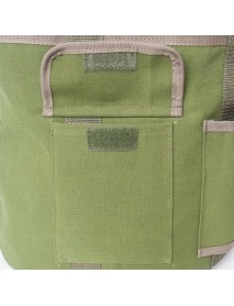 Household Gardening Tool Kits Storage Bag Canvas Handbag Barrel Gadgets Hardware Collection for Garden Plant Tools