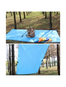 KCASA KC-TTL 250cm Ultralight Sun Shelter Camping Picnic Mat Beach Tent Pergola Awning Taffeta Tarp