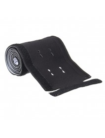 1.25M 49 Inch Cable Management Sleeve Flexible Neoprene Cable Organizer Wrap For TV PC